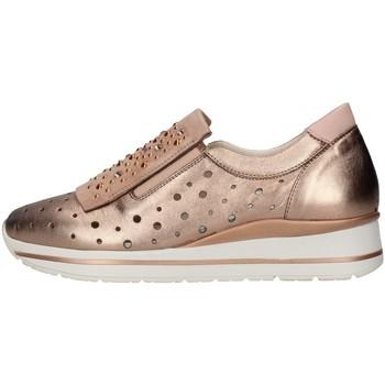 Sapatos Mulher Slip on Melluso R20032 Castanho