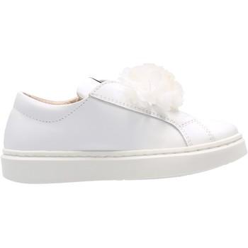 Sapatos Rapaz Sapatilhas Sho.e.b. 76 - Sneaker bianco 1232Z3 BIANCO