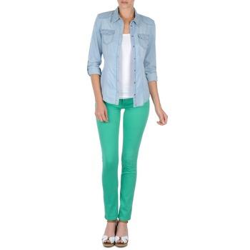 Textil Mulher Calças Cimarron CASSIS Verde