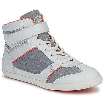 Sapatos Mulher Sapatilhas de cano-alto Dorotennis MONTANTE VELCRO Cinza