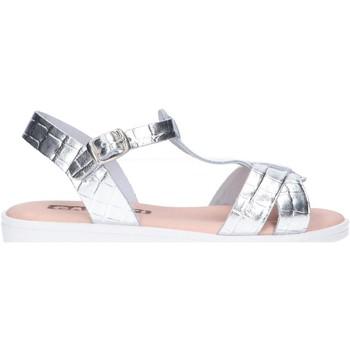 Sapatos Rapariga Sandálias Garatti AN0095 Plateado