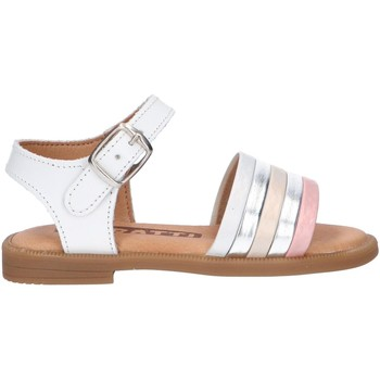 Sapatos Rapariga Sandálias Garatti AN0097 Blanco