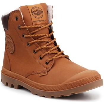 Sapatos Sapatilhas de cano-alto Palladium Manufacture Sport WPS 72992-251-M brown