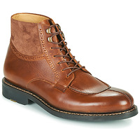 Sapatos Homem Botas baixas Pellet ROLAND Castanho