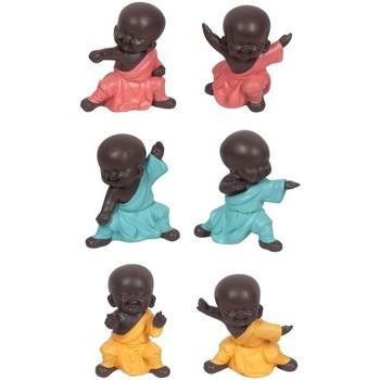 Casa Estatuetas Signes Grimalt Budas Em Luta 6 Dif. Multicolor