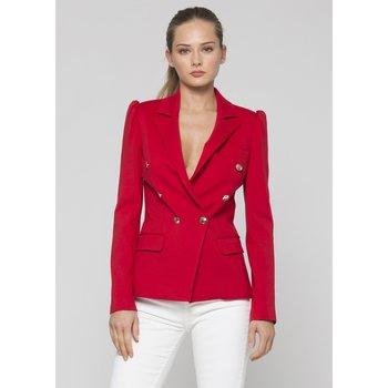 Textil Mulher Casacos  Kocca Blazer FELA Vermelho