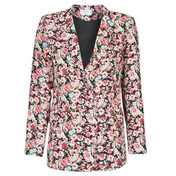 Textil Mulher Casacos/Blazers Betty London OBIMBA Preto / Rosa
