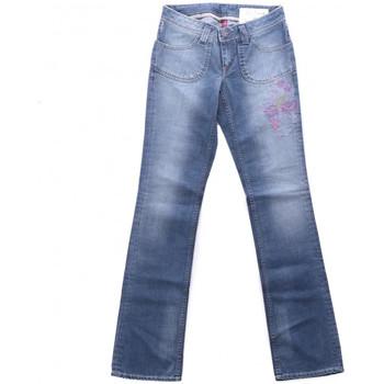 Textil Mulher Calças Jeans Teddy Smith  Azul