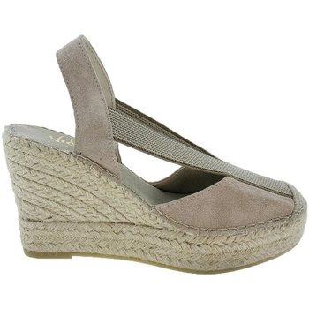 Sapatos Mulher Alpargatas Vidorreta Cuña  13900 Piedra Cinza