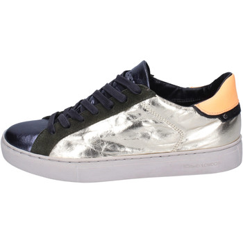 Sapatos Mulher Sapatilhas Crime London Sneakers BJ795 Ouro