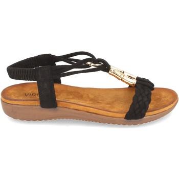 Sapatos Mulher Sandálias Clowse VR1-261 Negro