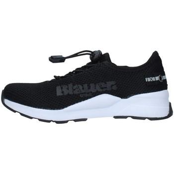 Sapatos Rapaz Sapatilhas Blauer S1ANDY01/KNI Preto