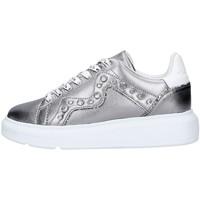 Sapatos Mulher Sapatilhas Manila Grace W0DS016LW Cinza