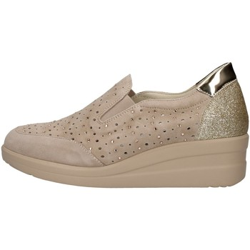 Sapatos Mulher Slip on Melluso R20156 Bege