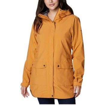 Textil Mulher Parkas Columbia Here And There Trench Jacket Jaune