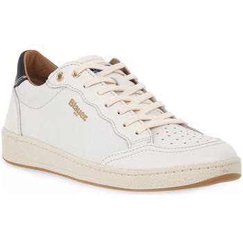 Sapatos Homem Sapatilhas Blauer WHI MURRAY Bianco