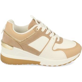 Sapatos Mulher Sapatilhas Buonarotti 1CD-1094 Camel