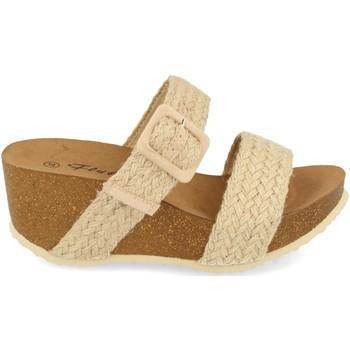 Sapatos Mulher Sandálias Ainy M183 Beige