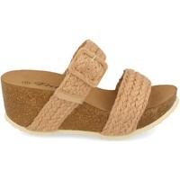 Sapatos Mulher Sandálias Ainy M183 Taupe