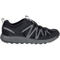Sapatos Homem Sapatilhas Merrell Wildwood Aerosport Cinzento, Grafite