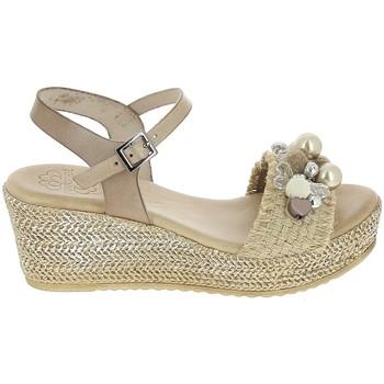 Sapatos Mulher Sandálias Porronet Sandale F12646 Taupe Cinza