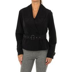 Textil Mulher Casacos  Armani jeans Chaqueta Preto