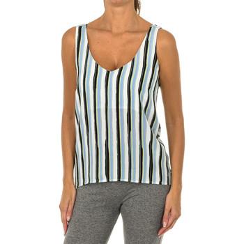 Textil Mulher Tops / Blusas Armani jeans Blusa de tirantes Multicolor
