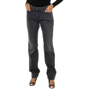 Textil Mulher Calças de ganga slim Armani jeans Pantalones largos Cinza