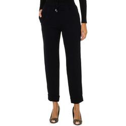 Textil Mulher Calças finas / Sarouels Armani jeans Pantalones largos Azul