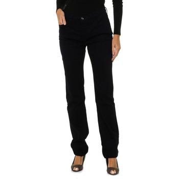 Textil Mulher Calças Armani jeans Pantalones largos Azul