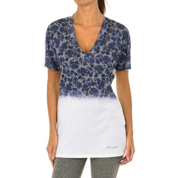 Textil Mulher T-Shirt mangas curtas Armani jeans Camiseta manga corta Multicolor