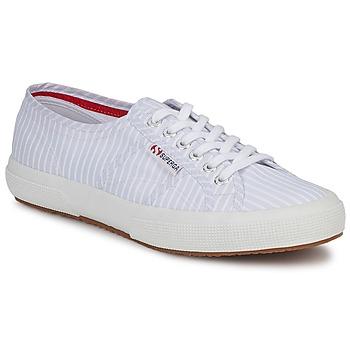 Sapatos Sapatilhas Superga 2750 COTUSHIRT Branco / Azul
