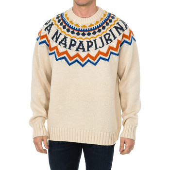 Textil Homem camisolas Napapijri Jersey Multicolor