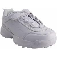 Sapatos Rapariga Sapatilhas Bubble Bobble Deporte niño  a3225 blanco Branco