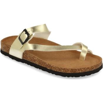 Sapatos Mulher Sandálias Silvian Heach M-15 Oro