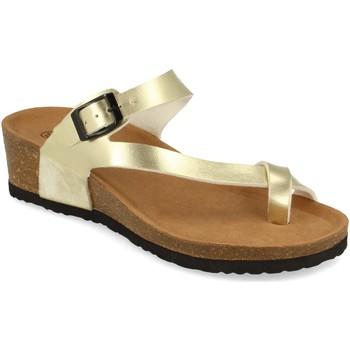 Sapatos Mulher Sandálias Silvian Heach M-28 Oro