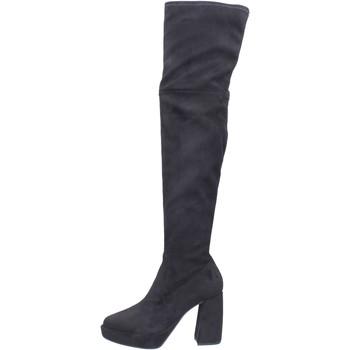 Sapatos Mulher Botas altas Elvio Zanon BJ810 Preto