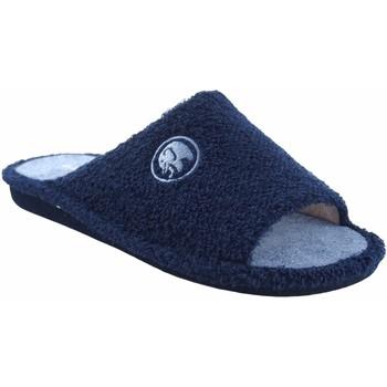 Sapatos Homem Chinelos Garzon Vá para casa cavalheiro  p.380.130 azul Azul