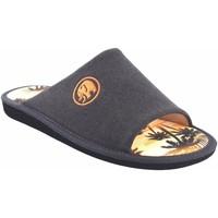 Sapatos Homem Chinelos Garzon Vá para casa cavalheiro  381.127 marrom Castanho