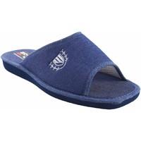 Sapatos Homem Chinelos Berevere Vá para casa cavalheiro  v 7004 azul Azul