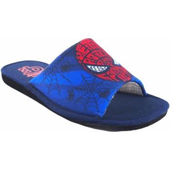 Sapatos Rapaz Chinelos Berevere Vá para casa garoto  v 1190 azul Vermelho