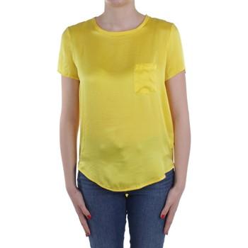 Textil Mulher Tops / Blusas Manila Grace C335SU Amarelo