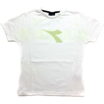 Textil Rapaz T-Shirt mangas curtas Diadora - T-shirt bianco 027313-002 BIANCO