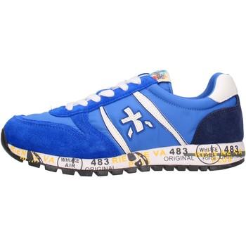 Sapatos Rapaz Sapatilhas Premiata - Sneaker azzurro 12-38001 AZZURRO