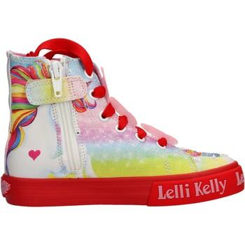 Sapatos Rapariga Sapatilhas de cano-alto Lelli Kelly - Unicorn multi rosso LK 9099-BD02 ROSA