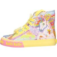 Sapatos Rapariga Sapatilhas de cano-alto Lelli Kelly - Unicorn multi giallo LK 9090-BQ02 GIALLO