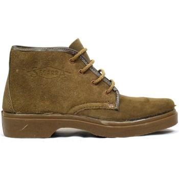 Sapatos Mulher Botas baixas Segarra Botas  5501 Natural Castanho