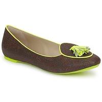 Sapatos Mulher Sabrinas Etro BALLERINE 3738 Castanho / Limão