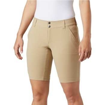 Textil Mulher Shorts / Bermudas Columbia Saturday Trail Long Short Beige