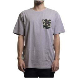 Textil T-Shirt mangas curtas Cultura Urbana  Gris